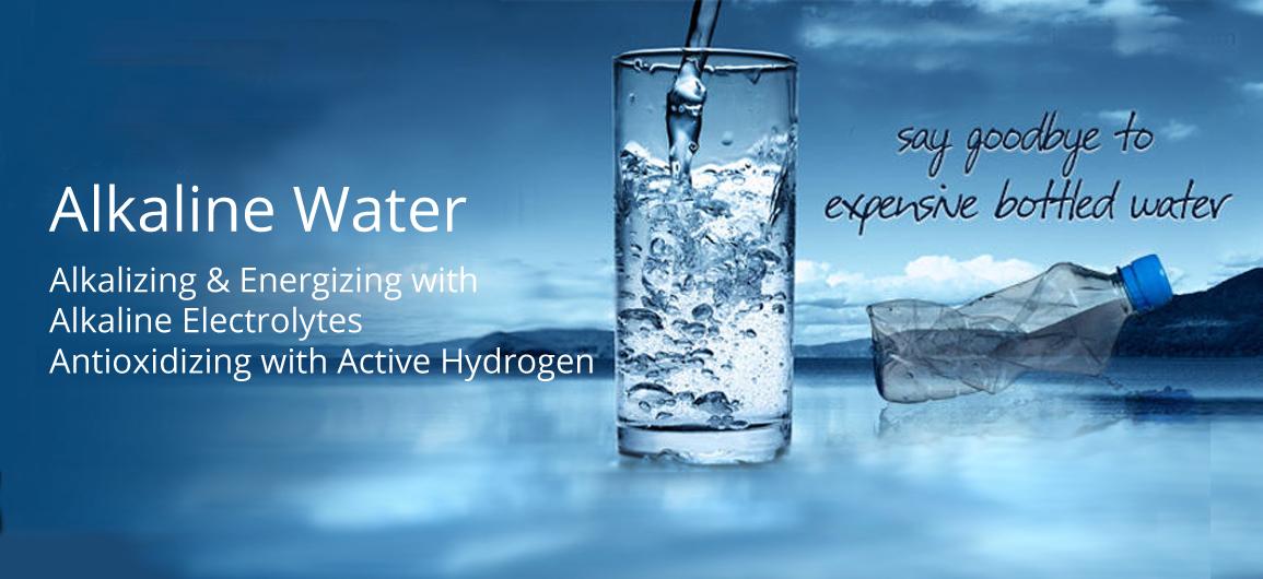 Alkaline-water-system